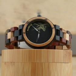 Medinis laikrodis OldWood WW68