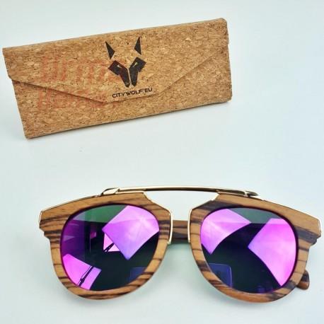Mediniai akiniai nuo saulės CityWolf CW58