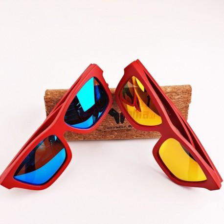 Mediniai akiniai nuo saulės CityWolf CW61