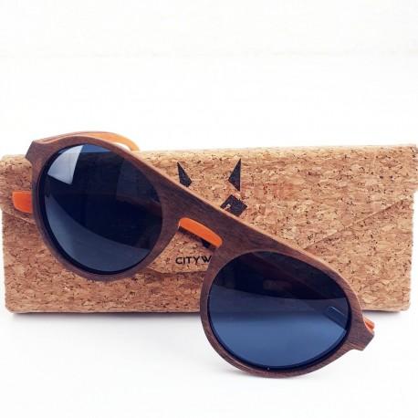 Mediniai akiniai nuo saulės CityWolf CW52