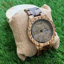 Medinis laikrodis OldWood MW87