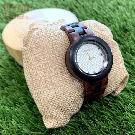Medinis laikrodis OldWood WW53 juodas