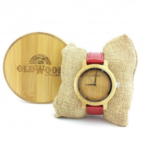 Medinis laikrodis OldWood WL25