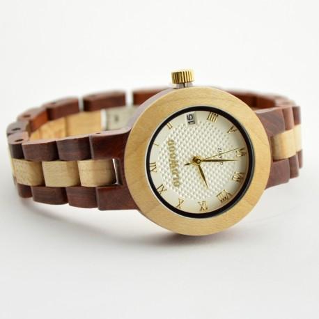 Medinis laikrodis OldWood WW53