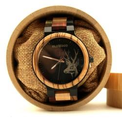 Medinis laikrodis OldWood MW60