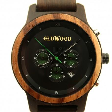 Medinis laikrodis OldWood MW61