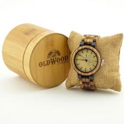 Medinis laikrodis OldWood MW48